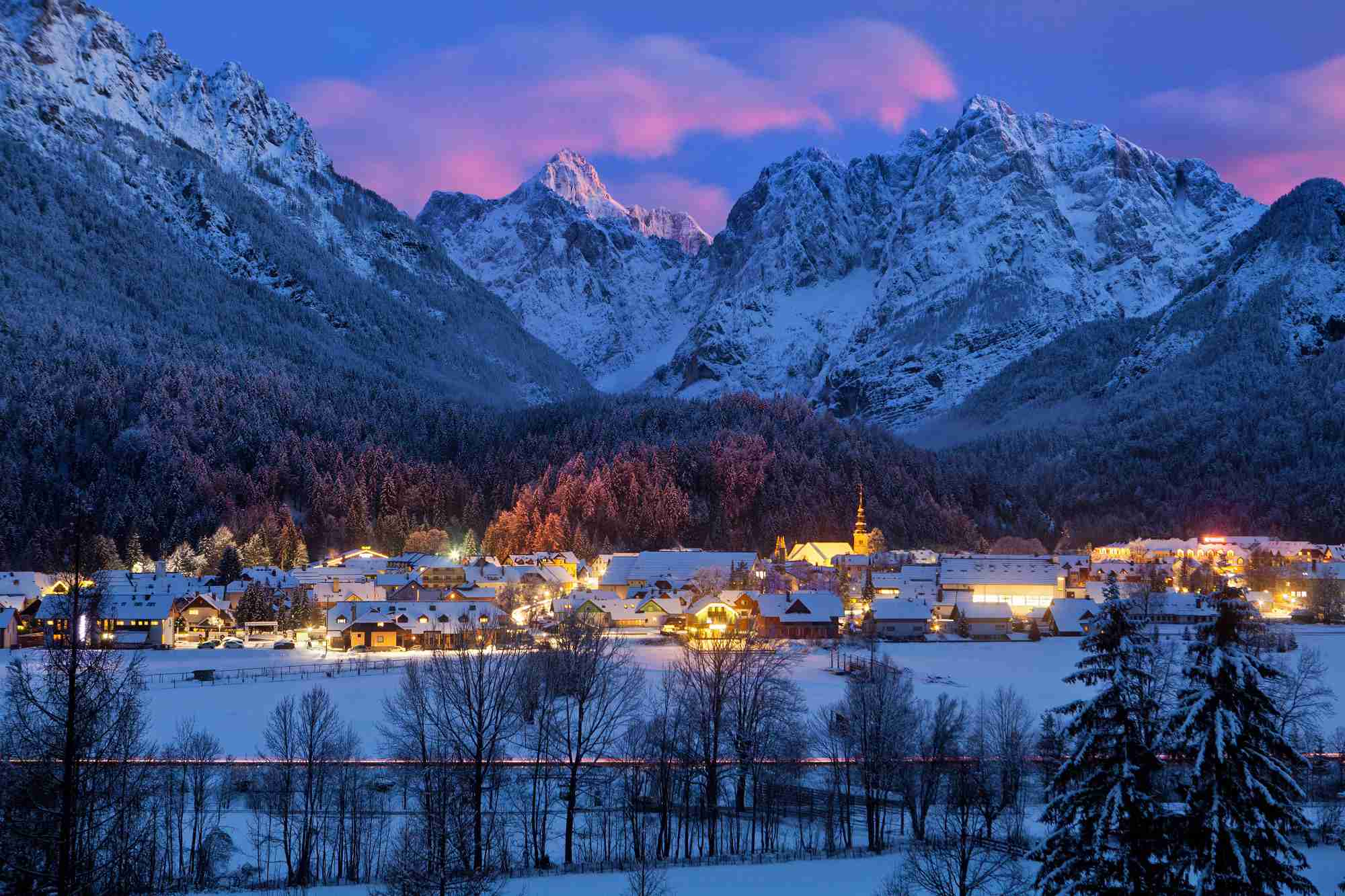 Winter Kranjska Gora